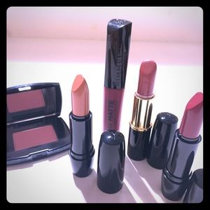 LANCÔME LIPSTICK WITH BLUSH wine and nude color